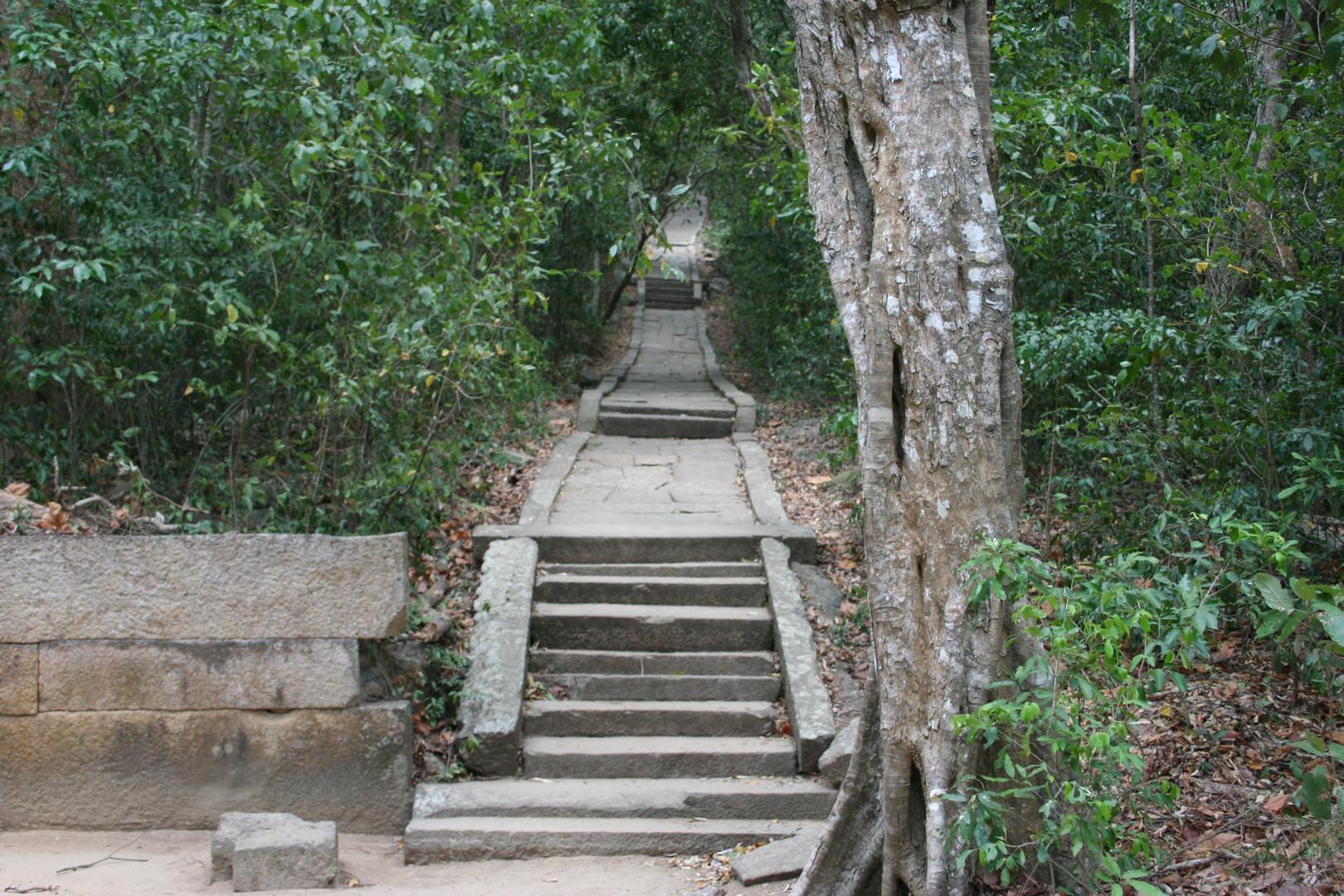 Ritigala. Forest Monastery. 1st Century BC.