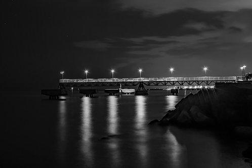 Edgewater Pier at Night