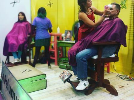Las Peluqueras Asesinas en la XVI Feria de Salud y Belleza en Corferias
