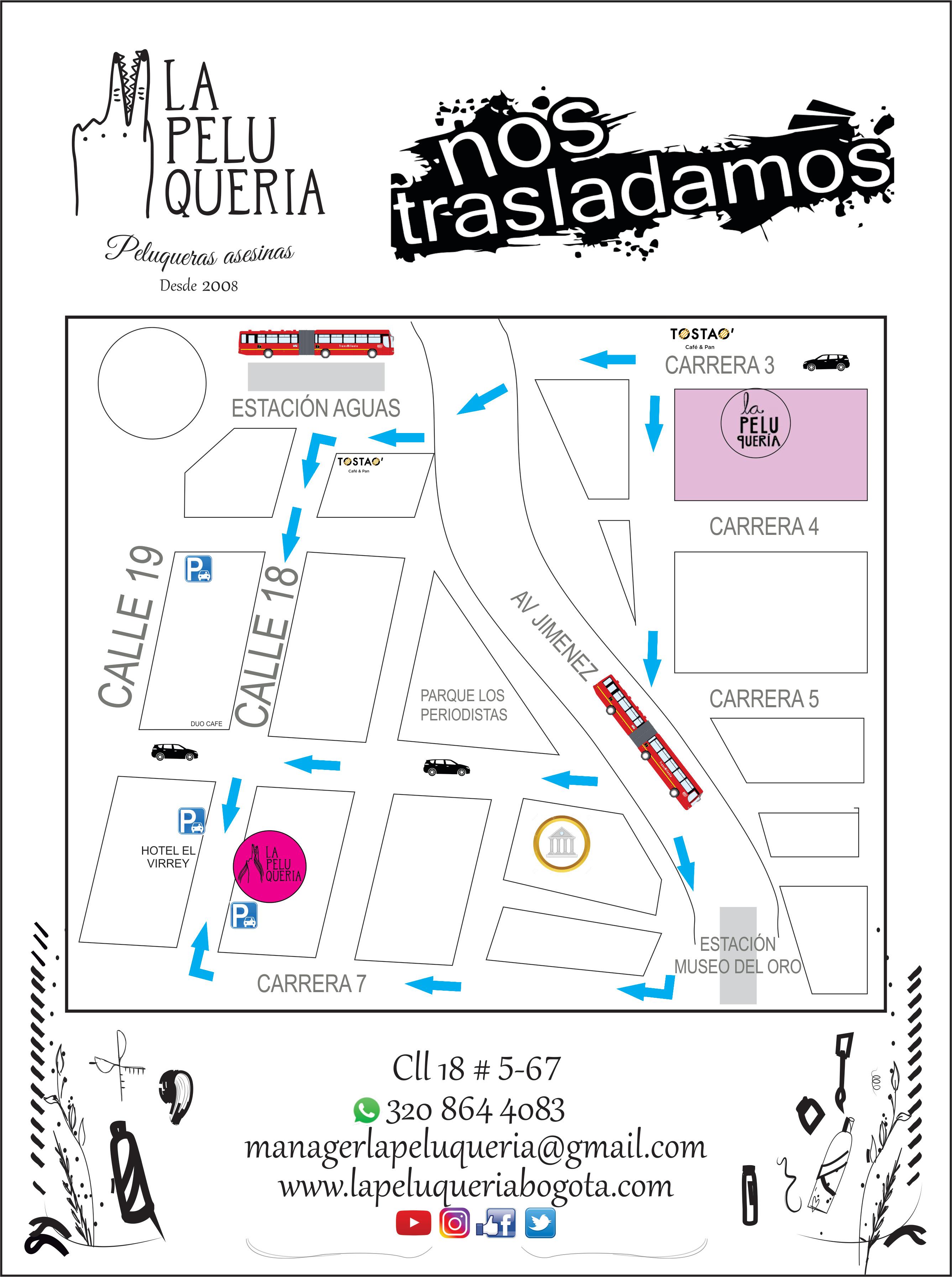 MAPA 555 nueva sede