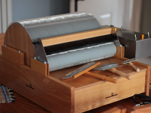 Electric Drum Carder Review - Video