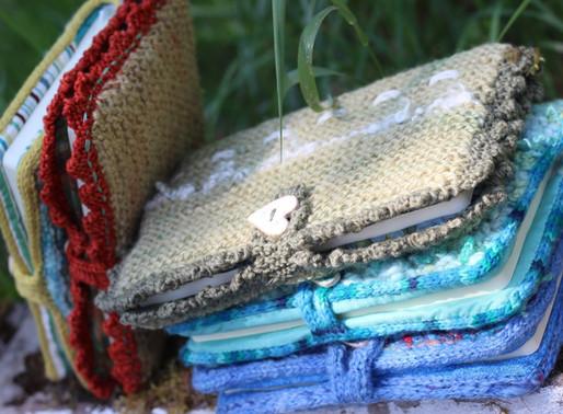 Handmade Knitted Journals