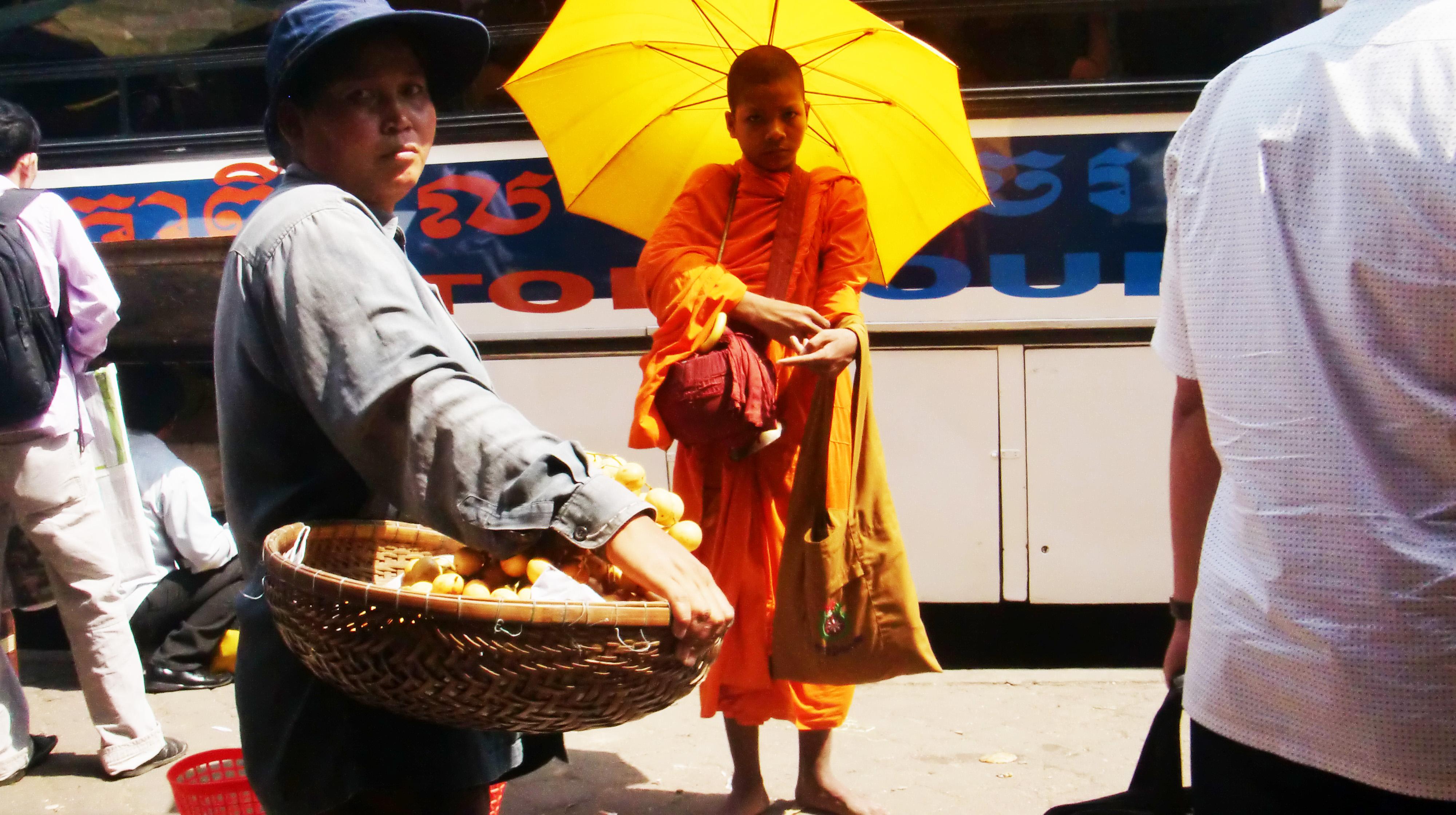 僧侶だけが一時停止状態