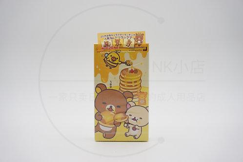 冈本003 轻松熊热感润滑 10个装