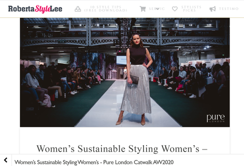 Women's Sustainable Styling Pure London