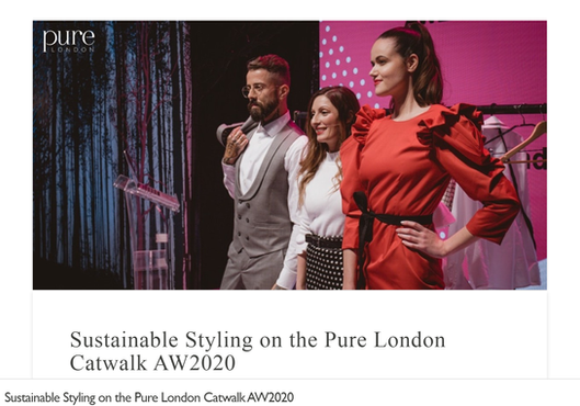 Sustainable Styling Pure London