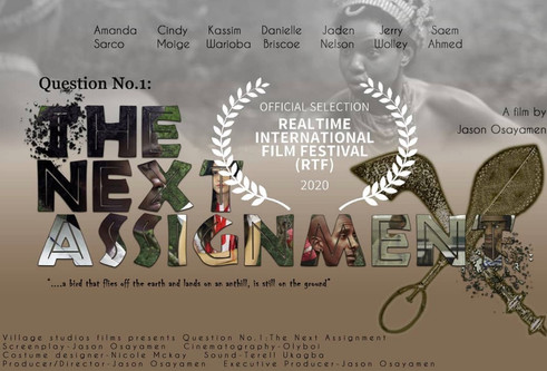 Nomination Real Time Film Festival