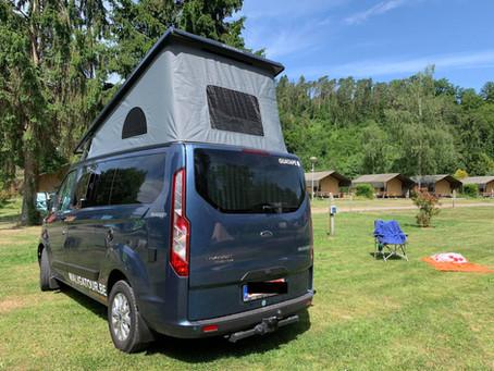 Camping au bord de l'Ourthe en pleine nature