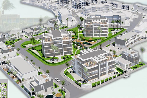 New Luxurious Townhouses/ Villas AUA Saliña Cerca
