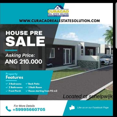 Pre Sale House CUR Schelpwijk