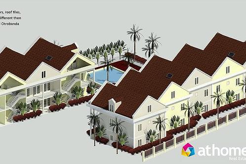 Nieuwbouw CUR Luxe Stadswoningen Otrobanda