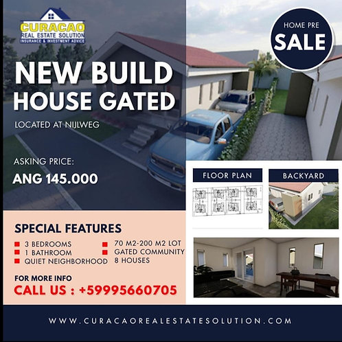 Pre Sale House CUR Nijlweg