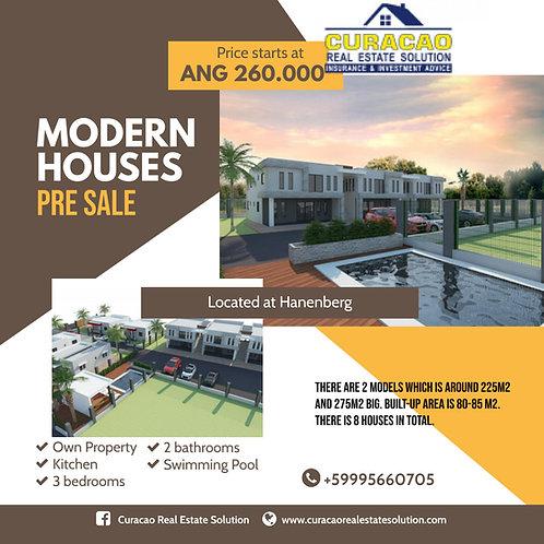 Pre Sale Houses CUR Hanenberg