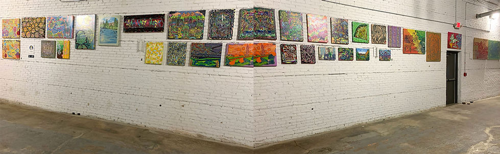 Tim Moores Art Show Percival Brewery