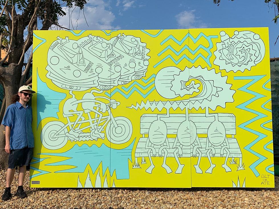 Tim Moores Hull Mural