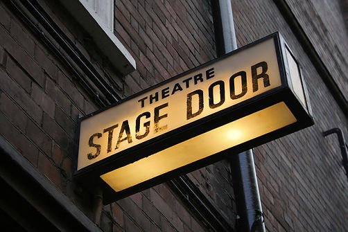 MDP - Stage Door Sign