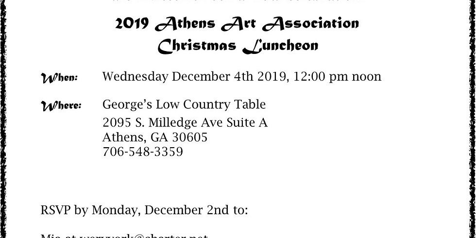 Christmas Luncheon 2019