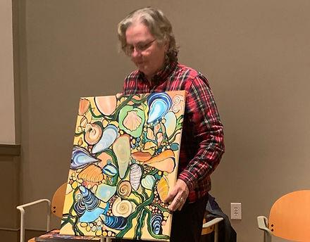 Athens GA Artist Meeting Art Community Association Lyndon House