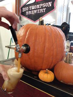 Pumpkin Ale during Oktoberfest