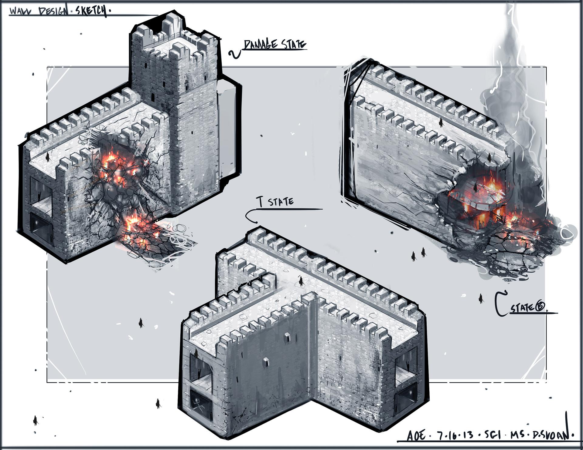 Age of Empires CS: Damage Sketches