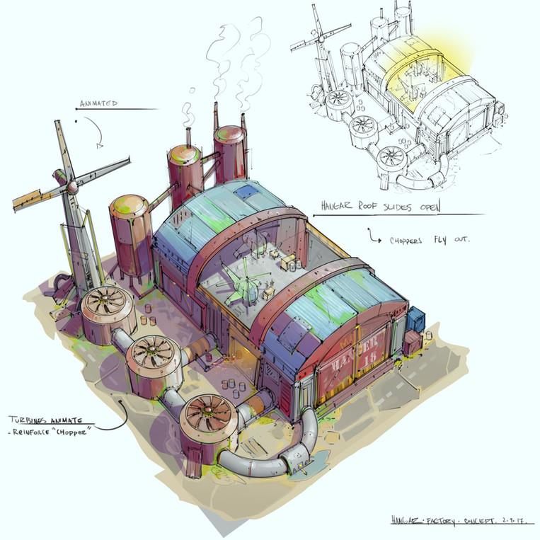 structure design sketch