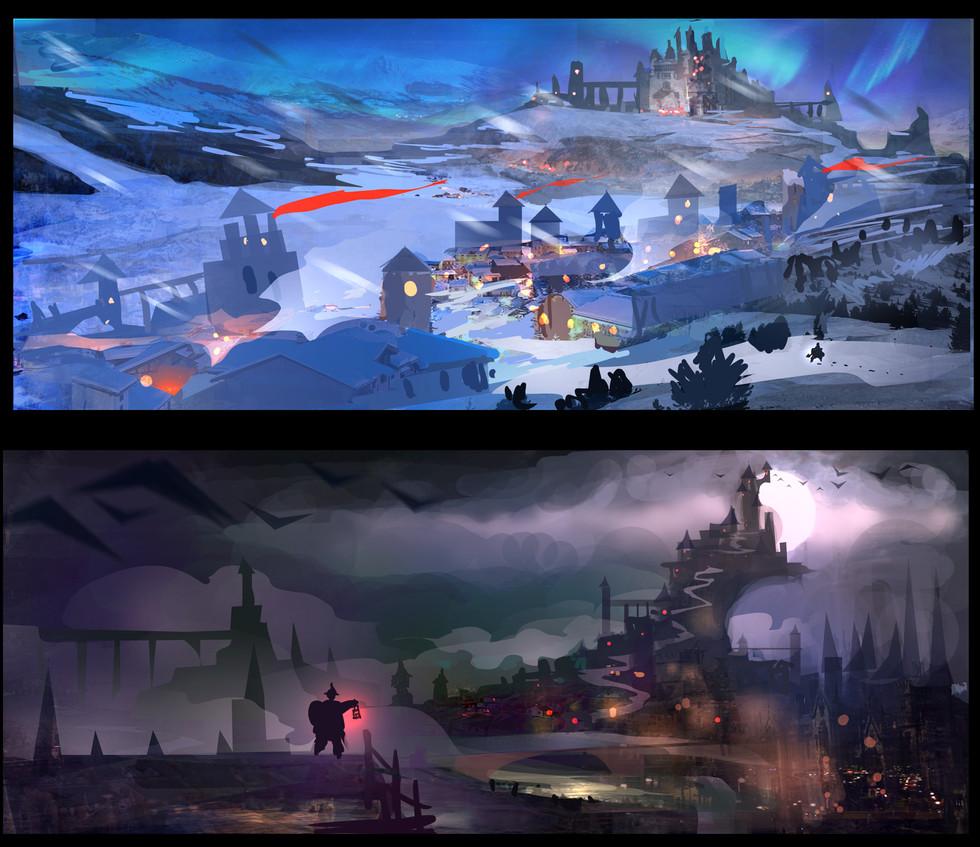 Castle Clash : New dawn Environment Design ideas