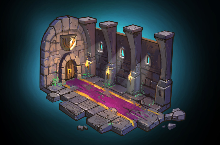 Chewy Souls Environment designs