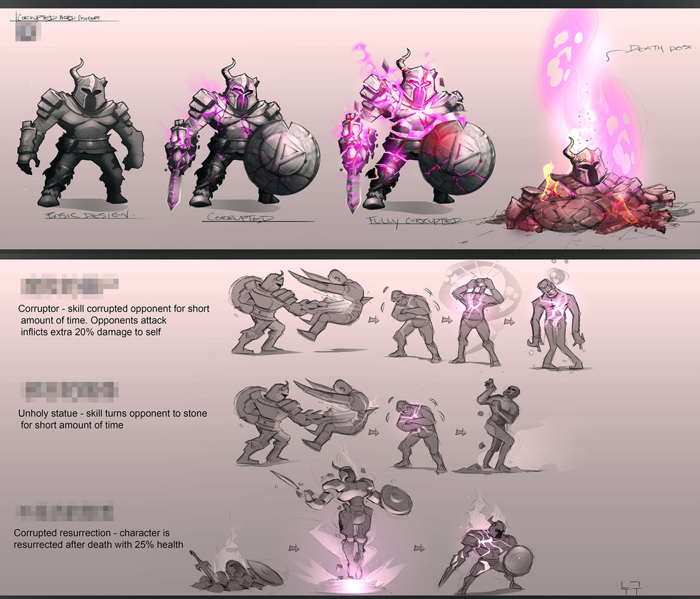 Castle Clash : New dawn Character Design ideas