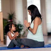 Schwangerschaft Yoga