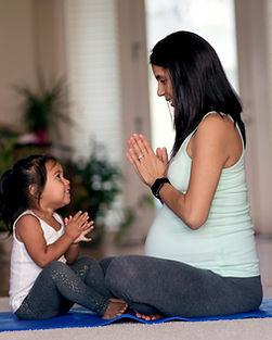 Těhotenství Jóga