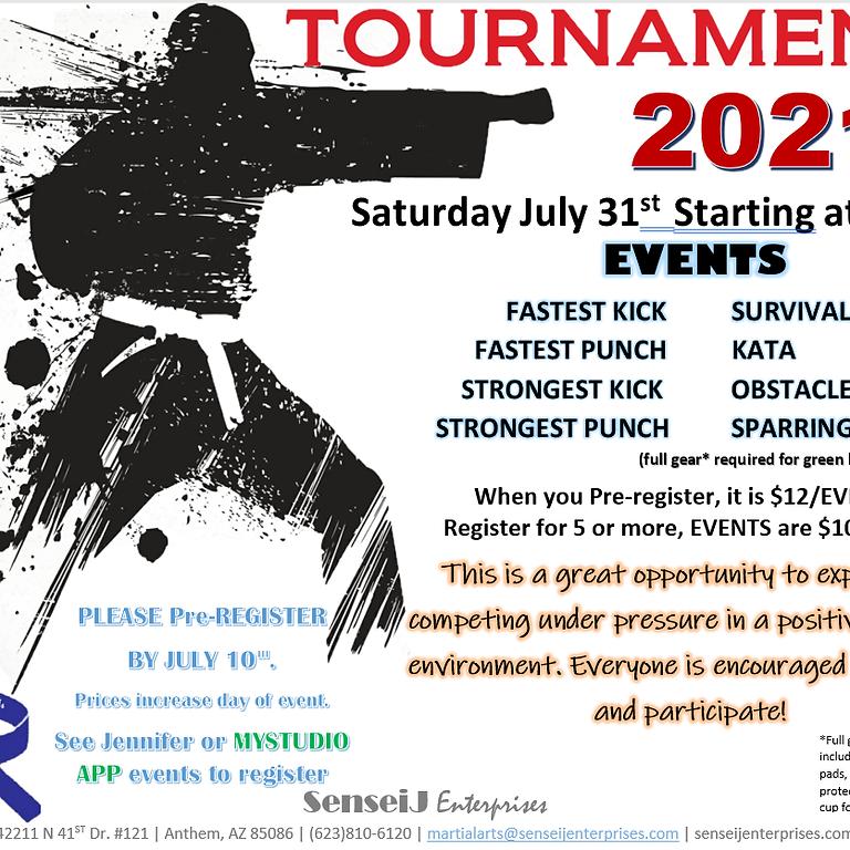 SenseiJ In-house karate tournament
