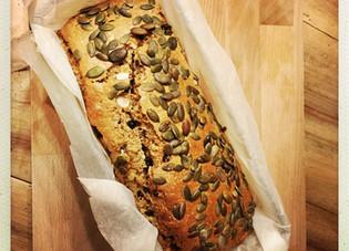 Cake du matin aux amandes et myrtilles