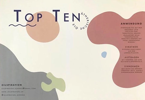 Top 10 Ätherische Öle DE (10 Stück)