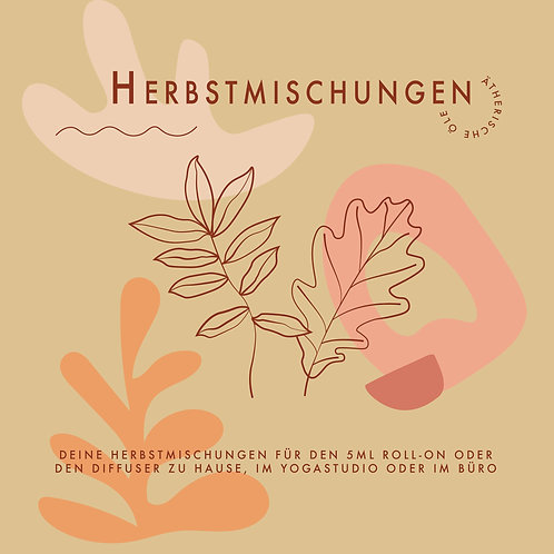 Herbstmischungen // PDF DOWNLOAD