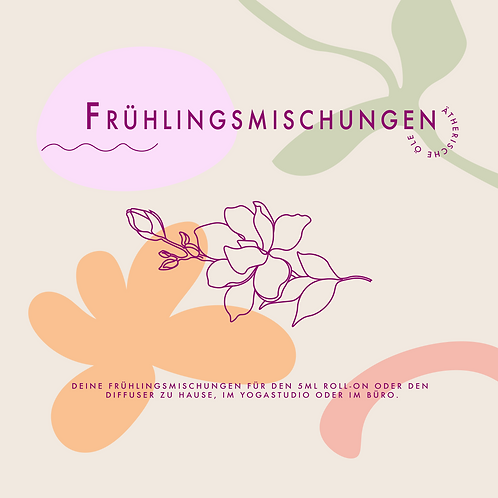 Frühlingsmischungen // PDF DOWNLOAD
