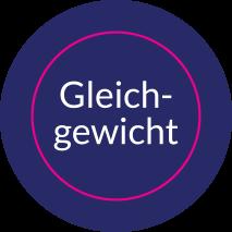 Aufkleber rund GLEICHGEWICHT (ANCHOR)
