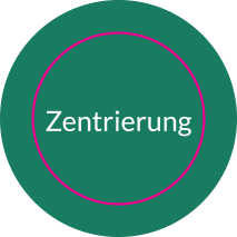 Aufkleber rund ZENTRIERUNG (ALIGN) // BOGEN