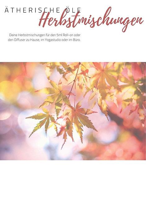 Herbstmischungen // PDF DOWNLOAD