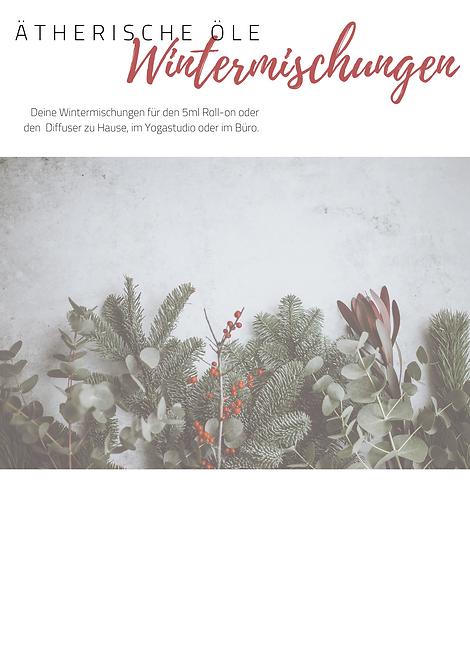 Wintermischungen // PDF DOWNLOAD
