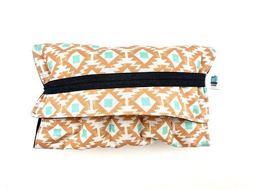 Oil Case - fold out small AZTEC