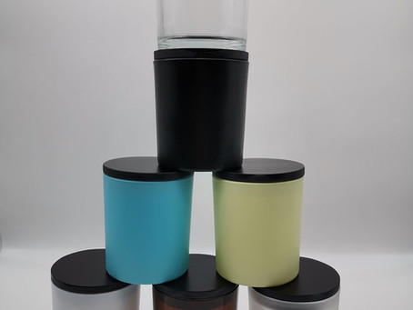 Black wood lids for our 8.5oz(o-8090) jars released