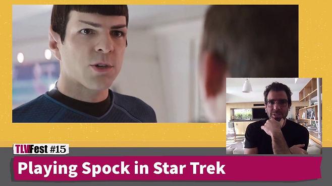 שיחה בשידור חי עם מר ספוק ממסע בין כוכבים