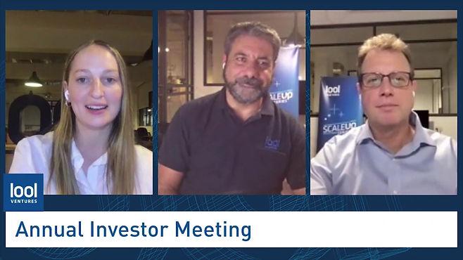 אירוע וירטואלי למשקיעים של קרן הון סיכון