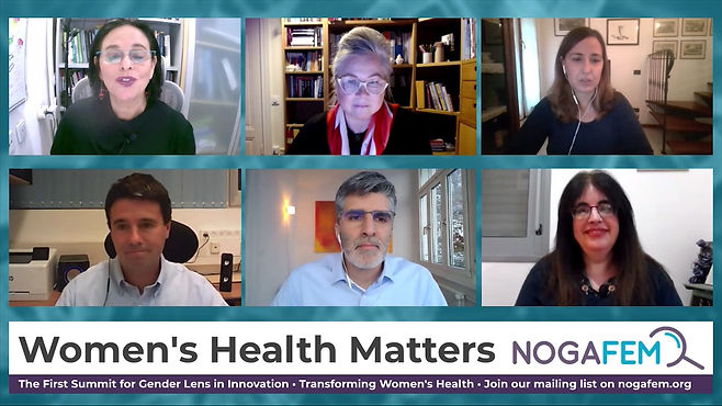 כנס וירטואלי: חדשנות ברפואה מבוססת מין ומגדר