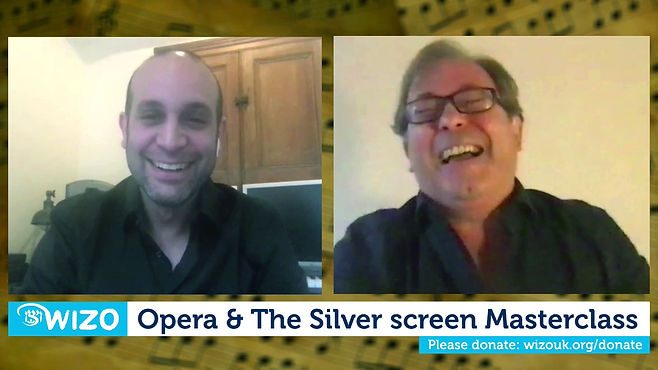 Online event about film composing and songwriting with Ilan Eshkeri, a film composer and James Clutton, Director of Opera Holland Park.