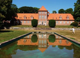 Skriverefugium på Hald Hovedgaard