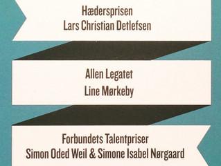Modtager af Danske Dramatikeres Talentpris