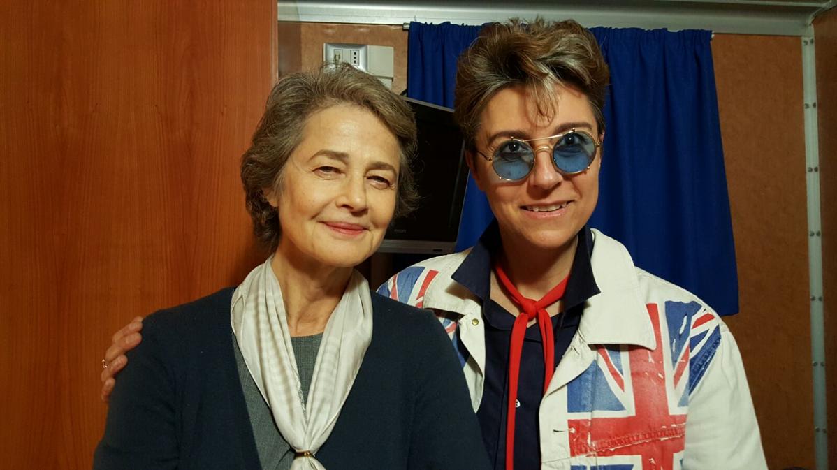 Ambra Mattioli et Charlotte Rampling