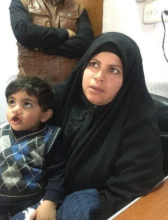 mamma e bambino iraq