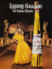 LIQUORE GALLIANO. THE ITALIAN CLASSIC.